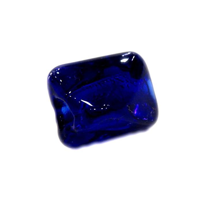 Facetado de murano M azul�o- MU566