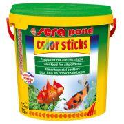 Ra��o sera pond color sticks carpas e kinguios 1,5kg