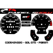 Kit Transl�cido p/ Painel - Cod543v220 GTS - Gol Passat