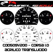 Kit Transl�cido p/ Painel  - Cod509v200 - Corsa sem Contagiros