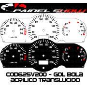 Kit Transl�cido p/ Painel - Cod625v200 - Gol Parati Saveiro G2 com Contagiros Vdo