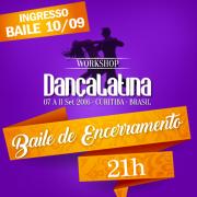 Baile -participando do workshop-at�  30/08 35,00, at�  06/09 45,00, no dia 65,00