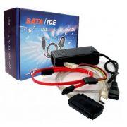 Conversor USB/Sata e IDE Global 3 em 1