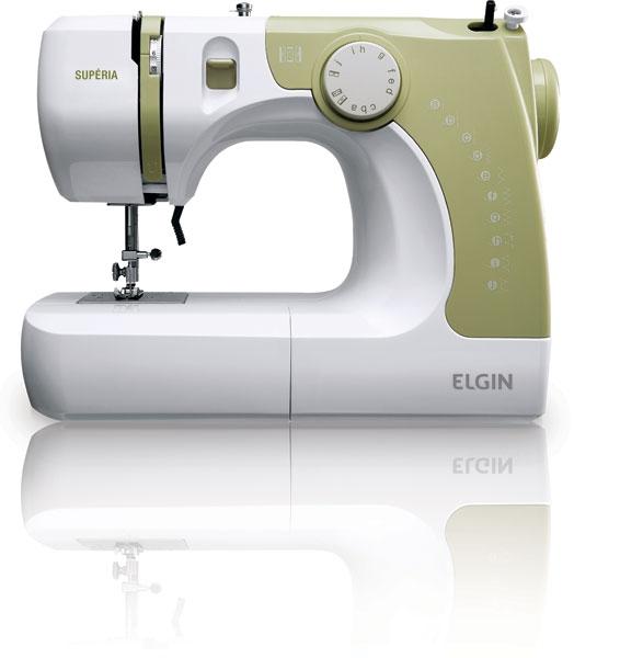 M�quina de Costura Port�til Elgin Sup�ria JX 2050R  220V