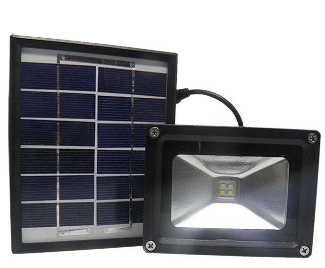 enfeites de jardim solar : enfeites de jardim solar:Refletor de Led com Painel de Energia Solar para Casa Jardim (81549