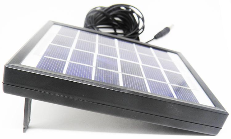 Refletor de Led com Painel de Energia Solar para Casa Jardim (81549