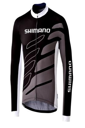 Blusa Jaqueta Thermal Jersey Team Shimano Original Tamanho M