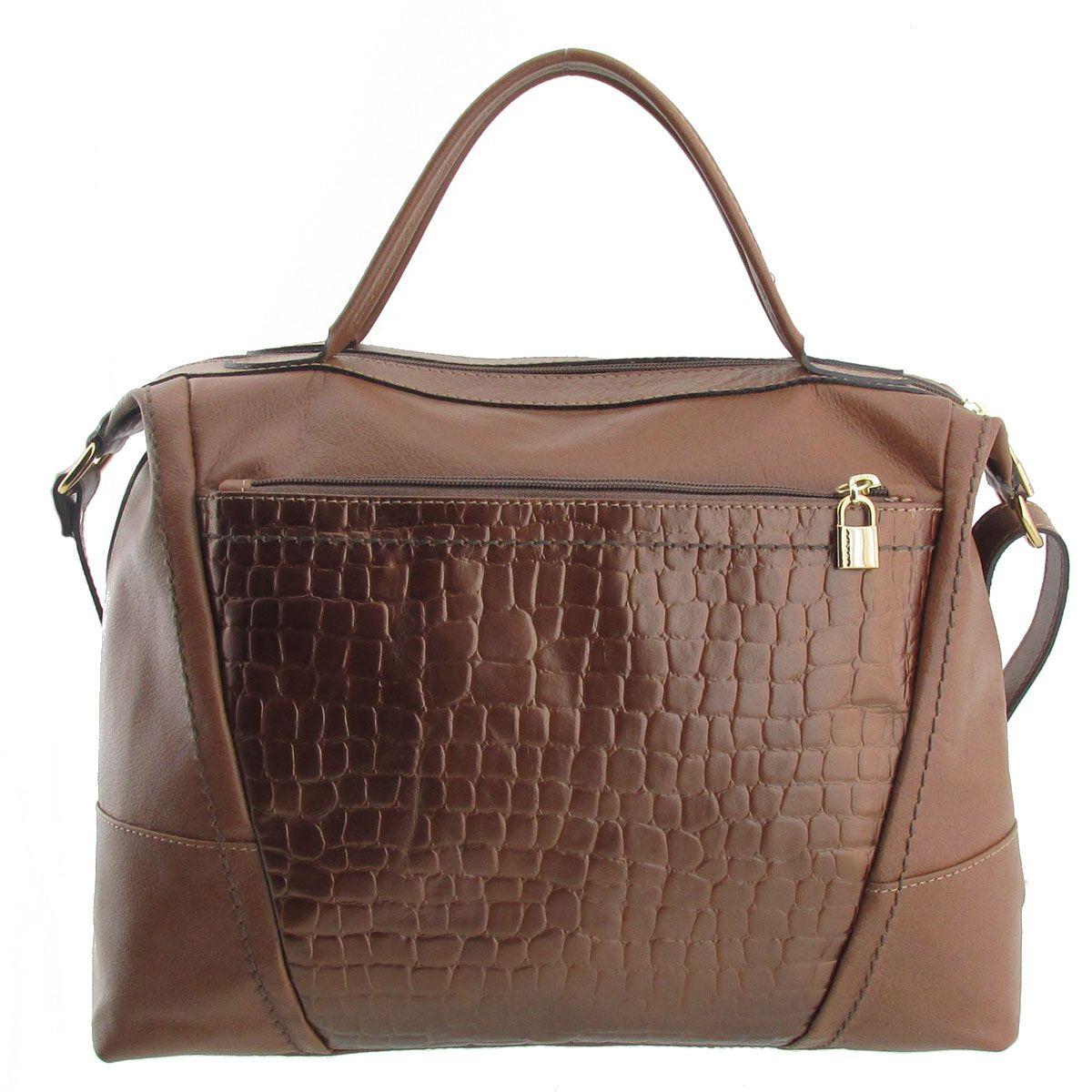 Bolsa De Mão R$ : Arzon bolsa de m?o em couro