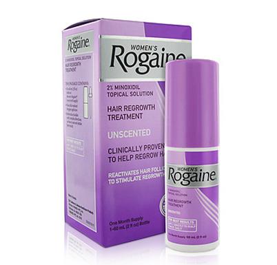 Rogaine - Minoxidil em Solu��o 2% para mulheres - Tratamento para 1 M�s