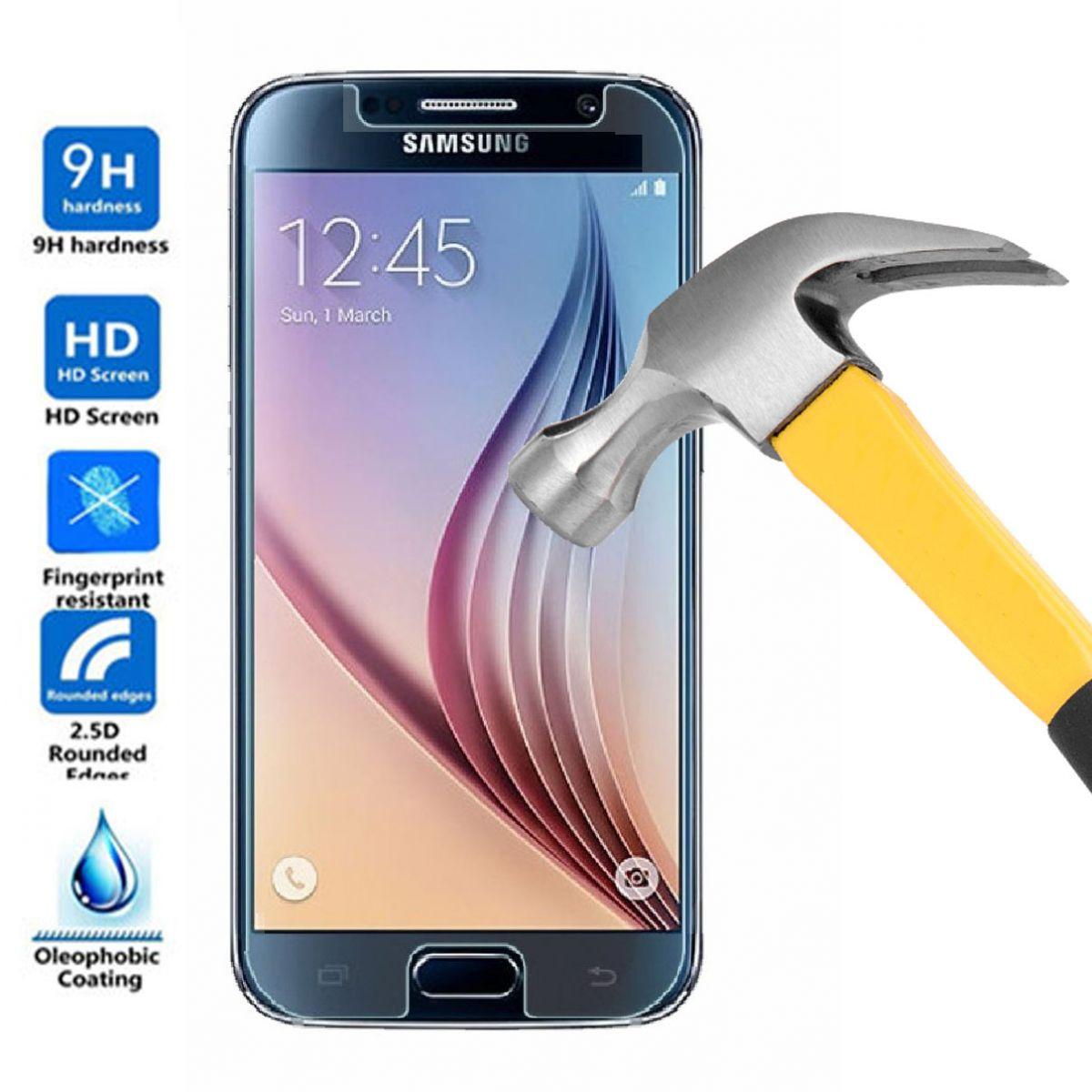 Película de Vidro Samsung Galaxy S6 G920i Anti Impacto
