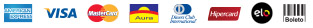 Cart�es de Cr�dito, Boleto Banc�rio, Transferencia para Banco do Brasil, Ita�, Bradesco