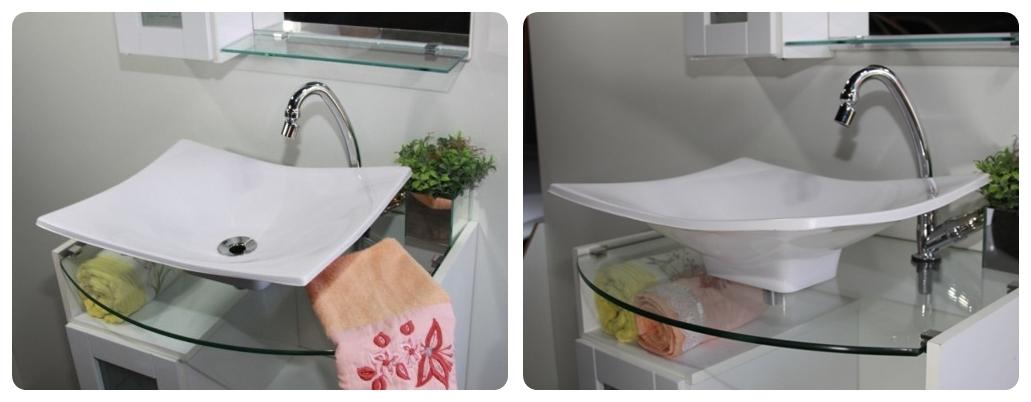 Cuba De Apoio Folha Para Banheiro E Lavabo  R$ 115,90 em Mercado Livre -> Cuba Para Banheiro Folha