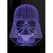 Lumin�ria Illusion 3D Acr�lico LED - Darth Vader