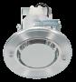 Lumin�ria de Embutir 125MM em Aluminio, Funil Pequeno para 1 l�mpada de 15W - INDUSPAR