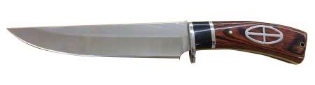 Faca de Caça - Modelo Luxo G02 - Frete Grátis