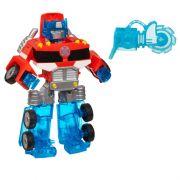 Boneco Transformers Rescue Bots Energize Optimus Prime - Hasbro
