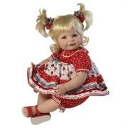 Boneca Adora 20� Baby Doll Ladybug! Ladybug! Green Eyes/Blonde Hair