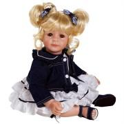 Boneca Adora Baby Doll 20� Denim and White (Light Blond/Brown Eyes)