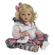 Boneca Adora Baby Doll, 20 inch �The Cat�s Meow� Light Blonde Hair/Blue Eyes