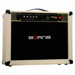 Vorax12100 - Amplificador Combo p/ Guitarra 100W Vorax 12100 Creme - Borne