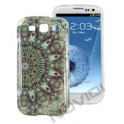 Case Personalizada Arabescos Coloridos para Samsung Galaxy S3 I9300 - Modelo 2
