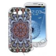 Case Personalizada Arabescos Coloridos para Samsung Galaxy S3 I9300 - Modelo 3