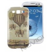 Case Personalizada Elefantes para Samsung Galaxy S3 I9300 - Modelo 3