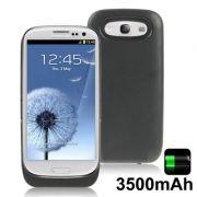 Power Pack Bateria externa 3500mAh com suporte Samsung Galaxy S III