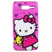 Capa fashion personalizada Hello Kitty para Motorola Razr i XT890