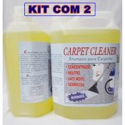 Shampoo Especial P/Lavagem De Estofados E Carpetes-Kit C/2