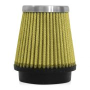 Filtro de Ar Esportivo Rs Air Filter C�nico 62mm Amarelo