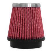 Filtro de Ar Esportivo Rs Air Filter C�nico 70mm Vermelho