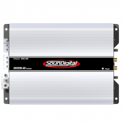 M�dulo Amplificador Soundigital Evolution SD1200.4D 1200W Rms 2 Ohms