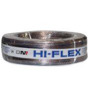 Cabo Paralelo para Instala��o Automotiva Dni Hi-Flex 2x2,50 mm 50 Metros Cristal Roxo
