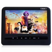 Tela Port�til para Encosto de Cabe�a Dlux 9 Pol Dvd Usb Sd com Game e Controle Multifuncional