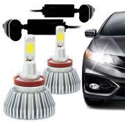 Kit L�mpada Multilaser Super Led Headlight H11 6200K 12V Efeito Xenon
