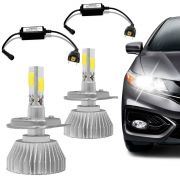 Kit L�mpada Super Led Headlight 3D H7 6000K 12V Efeito Xenon