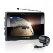 Navegador GPS Multilaser 4.3� Tracker III GP035 C�mera de R� e TV Digital