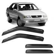 Calha de Chuva Acr�lica Adesiva Volkswagen Santana 2000 � 4 portas