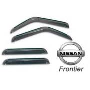 Calha de Chuva Mar�on p/ Nissan Frontier at� 2007� 4 portas