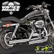 Escapamento Vance & Hines Mod. Straightshots Cromado ( Ponteira ) - XL 883 / XL 1200 ano 04 at� 13 -