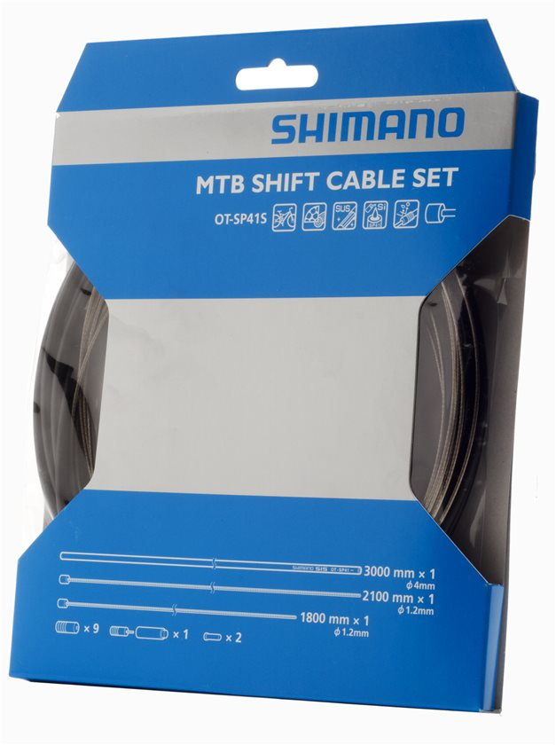 Kit de Cabo e Conduite de Marcha Shimano XTR OT-SP41S (Preto)
