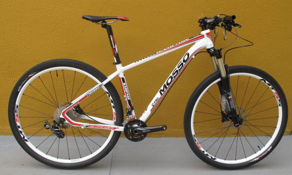Bicicleta Mosso Rampage 29 Er. (Deore 2x10)