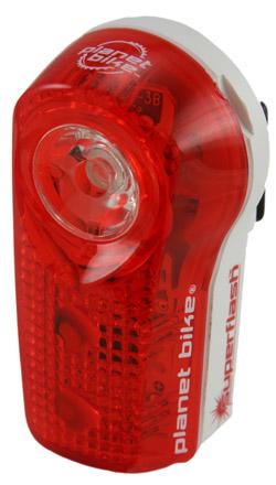 Luz Traseira Planet Bike Blinky Super Flash