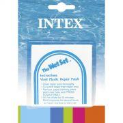 Kit Intex com 06 Adesivos de Reparo Manuten��o Infl�vel Boia Piscina Colch�o #59631
