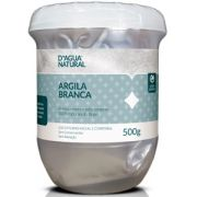 Argila Branca Facial E Corporal - 500g D'Agua Natural