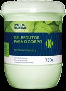 Gel Redutor de Medidas e Celulite com Cafe�na 750g Dagua Natural