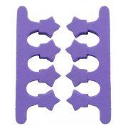 Separador De Dedos Em E.V.A Formato Estrela 02 Unidades - Santa Clara