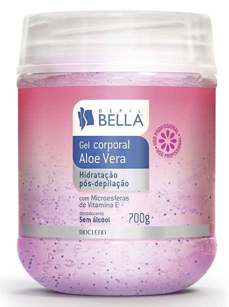 Gel Corporal Aloe Vera Hidratação Pós Depilação - Depil Bella - 700g