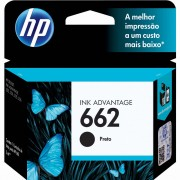 Cartucho HP Original 662 Preto